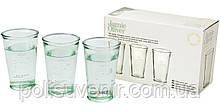 Набір з 3-х склянок для води