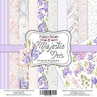 Набор бумаги для скрапбукинга Фабрика декора Majestic Iris, 30х30см, фото 1