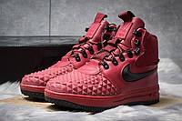 Зимние ботинки на меху Nike LF1 Duckboot, бордовые (30402),  [  42 44  ]