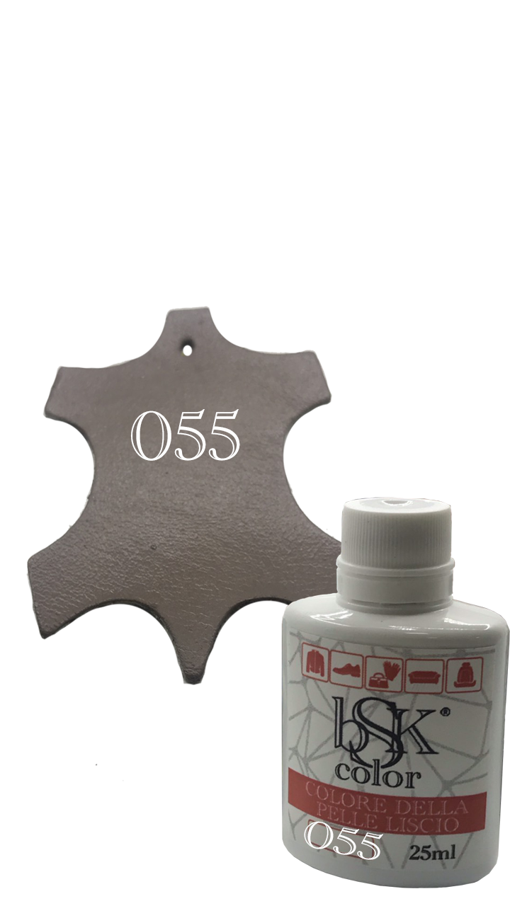 Краска для кожи bsk-color 25ml мокко №055