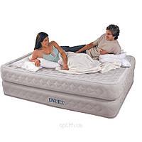Надувная кровать Intex 66962 со встроенным электронасосом