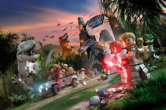 Конструкторы Парк Юрского Периода Jurassic World
