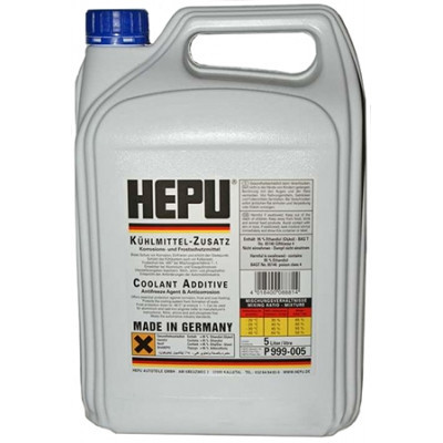 Антифриз G11 HEPU синий концентрат -80°C 5л