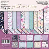 Набор бумаги для скрапбукинга Scrapmir Gentle Morning (англ), 30х30см, фото 1