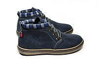 Зимние ботинки (на меху) мужские Switzerlend 13030 (реплика)