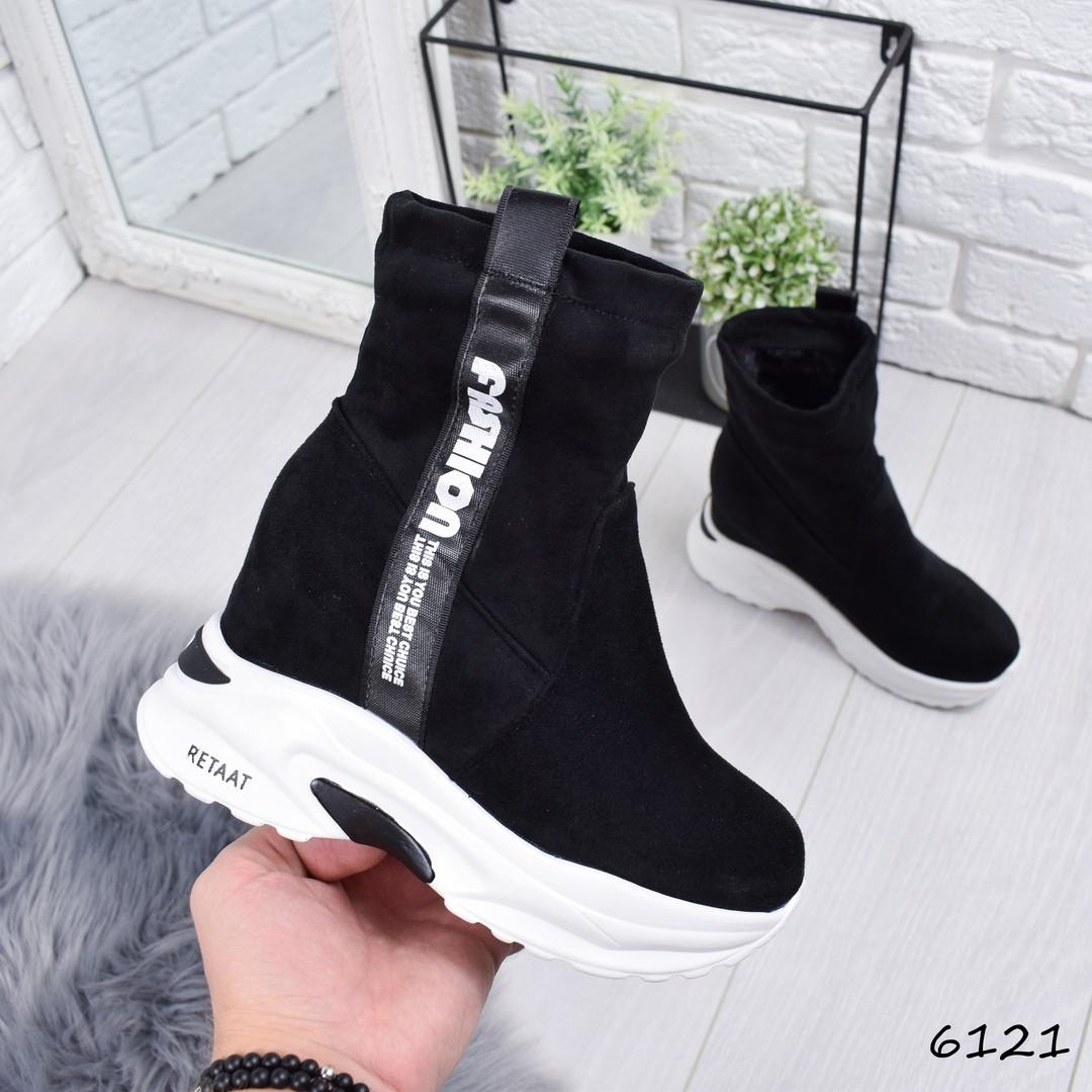 0d6db0190 Купить Сникерсы женские Felosto черные женскую обувь по низкой цене ...
