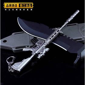 Брелок з гри PUBG M416 Assault Rifle Weapon Keychain