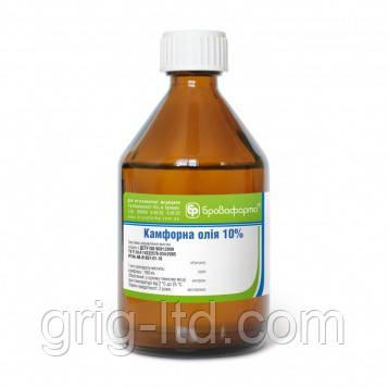 Камфорное масло 10 %, 100 мл