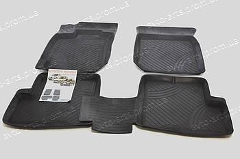 Резиновые автоковрики в салон Renault Logan Sandero Duster ковры резиновые в салон Рено Логан Сандеро Дастер
