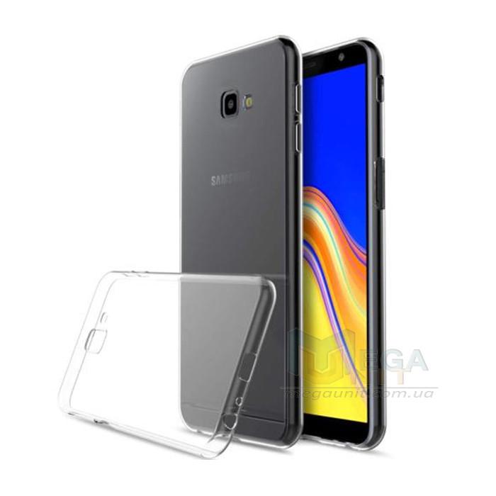 Прозрачный силиконовый чехол для Samsung Galaxy J4 Plus 2018 (J415)