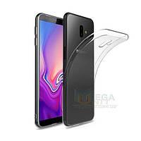 Прозрачный силиконовый чехол для Samsung Galaxy J6 Plus 2018 (J610)