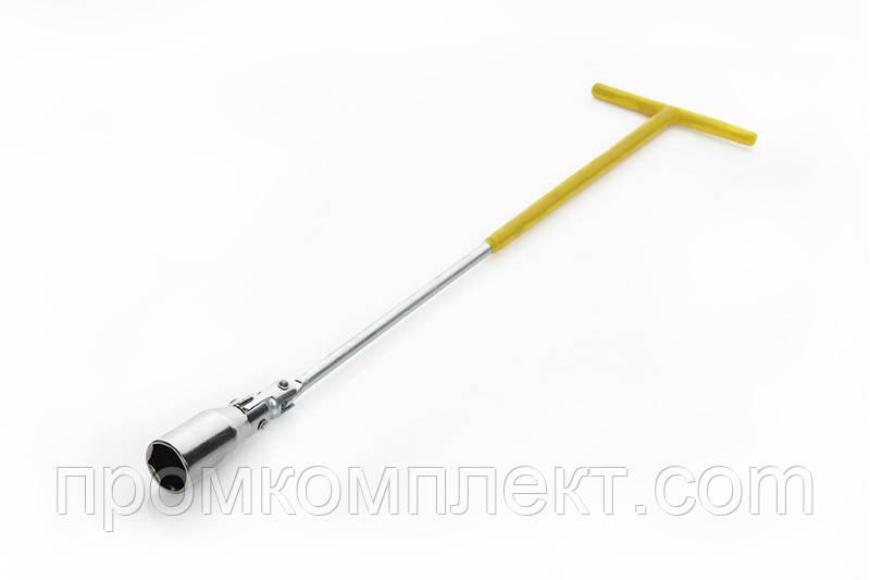 Ключ свечной удлиненный 21x500мм
