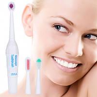 Ультразвуковая зубная щетка с насадками Код:123449