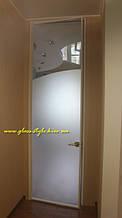 Стеклянные двери (обвязка профиль)