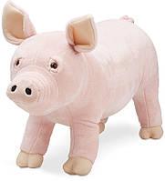 Мягкая игрушка Плюшевая свинка высотою 76 см (Pig) ТМ Melissa & Doug MD8833, фото 1
