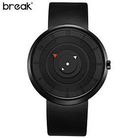 Мужские футуристические часы без стрелок Break B106