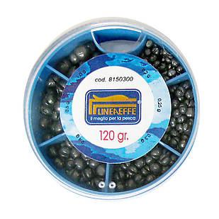 Грузки дробь Lineaeffe Soft Lead Split Shots набор 120гр.