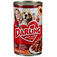Корм Purina Darling кусочки с мясом и печенью 1.2 кг