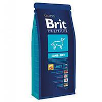 Корм Brit Premium Lamb & Rice 3 кг