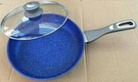 Сковорода Lessner Stone Line алюмін.протипригар.D=24см 88360-24