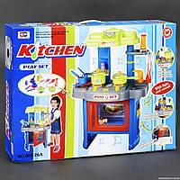 Детская игровая Кухня 008-26 А подсветка, звук, на батарейке