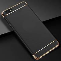 Чехол с золотыми вставками для Huawei Y5 2018 / Y5 Prime 2018 (2 Цвета)