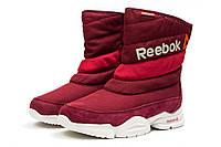 Зимние женские ботинки Reebok  Keep warm (реплика) 2-202