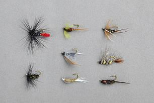 Мухи Balzer Wet Fly and Nymphs в наборе 8шт.