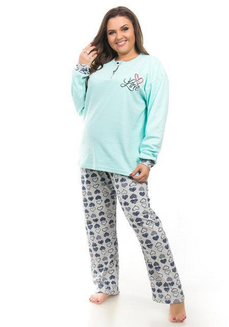 322c3ca25688 Турецкая женская пижама большого размера Fawn — купить недорого в ...