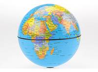Глобус вращающийся Вокруг света, 15 см Код:154-15112746