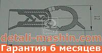 Уплотнитель крышки багажника ВАЗ 2108, 2109, 21099, 2113, 2114, 2115 (пр-во БРТ) 2108-6307024
