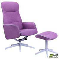 Крісло-реклайнер Belize тк.пурпурний AMF