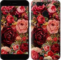 """Чехол на Xiaomi Mi A1 Цветущие розы """"2701c-1132-13916"""""""