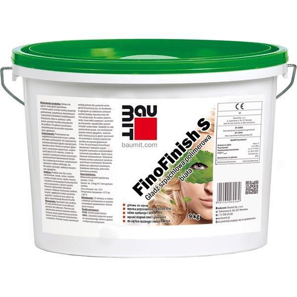 Шпаклевка Baumit FinoFinish S 9 кг