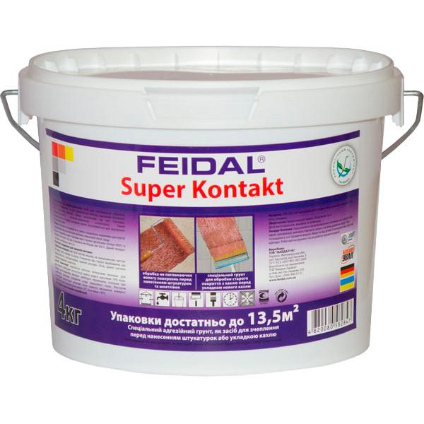 Грунтовка Feidal Super Kontakt 4 кг