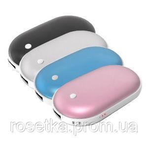 Зарядное устройство Power Bank Pebble hands warmer NS-518, 5000 mAh с подогревом для рук
