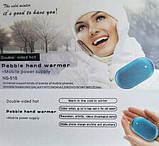 Зарядное устройство Power Bank Pebble hands warmer NS-518, 5000 mAh с подогревом для рук, фото 2