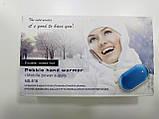 Зарядное устройство Power Bank Pebble hands warmer NS-518, 5000 mAh с подогревом для рук, фото 6