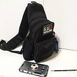 Рюкзак сумка на одно плечо 10 л армейский коричневый, фото 6