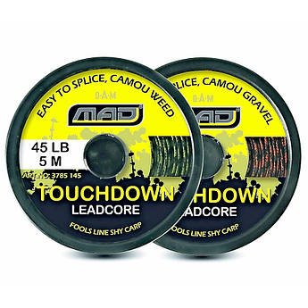 Лидкор DAM MAD Touchdown LeadCore  10м 45lbs/20кг (color-camou weed)
