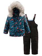 Детский  зимний  комбинезон на мальчика куртка и полукомбинезон . Размеры 92, 98, 104, 110, фото 1