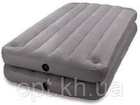 Надувная велюр-кровать Intex 67743 в Украине