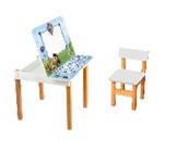 Стол детский Абетка с мольбертом + стульчик 2 цв., фото 1