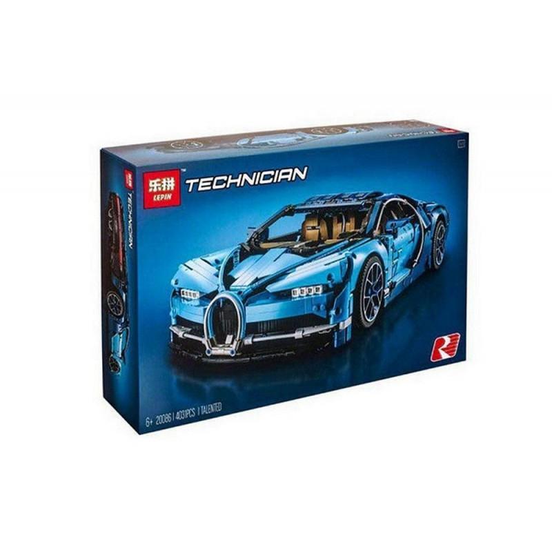 """Конструктор """"Автомобиль Bugatti Chiron"""" Lepin 20086 4031 деталь"""