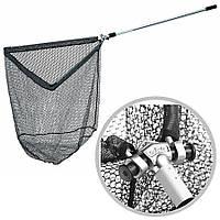 Подсак раскладной DAM GUMMI Landing Net с прорез.сеткой 2.10м склад. гол. 50см х 50см