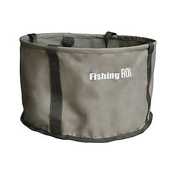 Ведро складное для прикормки Fishing ROI  d=30см