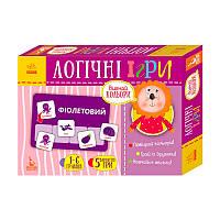 КЕНГУРУ Логічні ігри. 2+ Вивчай кольори. 24 картки КН918001У (Укр)