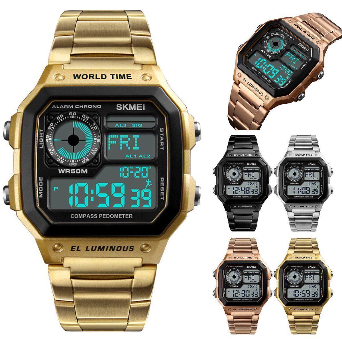 Часы с фитнес-трекером и компасом SKMEI 1382