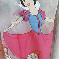 Тюль в детскую с мультяшным принтом, фото 1