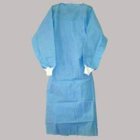 """Халат хірургічний одноразовий стерильний р-р """"L"""" Ахілл,манжет (СМС-30-35г/м2)"""